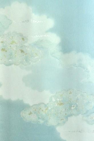青磁地雲ぼかし