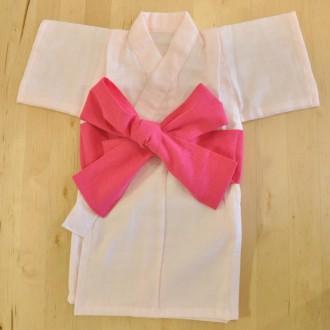 着物肌着 女児用60サイズ ピンク